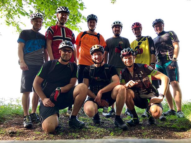 Mountainbike Tour mit Sven Strähle