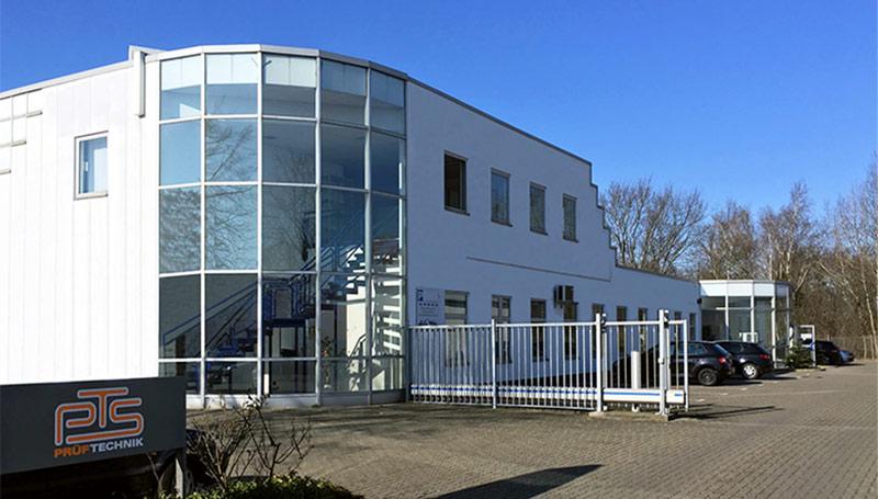 PTS-Prüftechnik neuer Standort in Wolfsburg