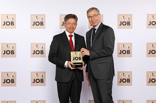 PTS-Prüftechnik als TOP JOB – Arbeitgeber ausgezeichnet!